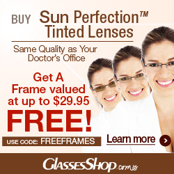 FREE Frames from Glasses Shop
