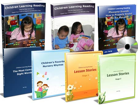 Children Learning Reading Program - How to Teach Your Child to Read - ONLY $49.95
