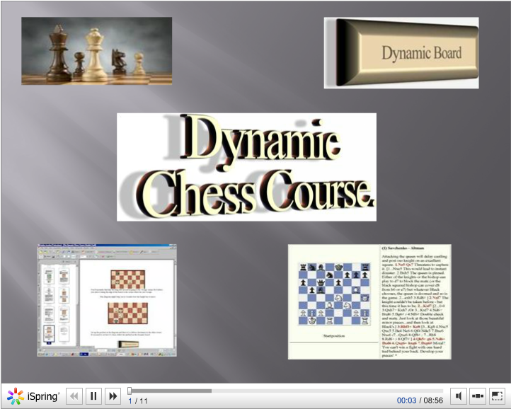 Dynamic Chess Course - Advanced Membership Course - Each Course Module Available For Just $19.97/mo