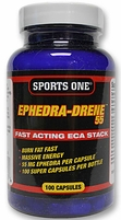 SALE Ephedra-Drene 55 From Sports One -  Ephedra Diet Pills Bodybuilding Supplements - Price: $54.99 - Sale Price: $34.95