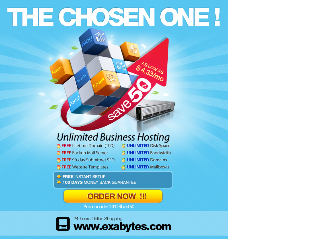 The Most Chosen Biz Web Hosting With UNLIMITED Biz Advantages - Get Coupon Code