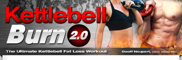 Kettlebell Burn - Melt Body Fat With Kettlebells - The Ultimate Kettelbell Fat Loss Workout - Save 25%0