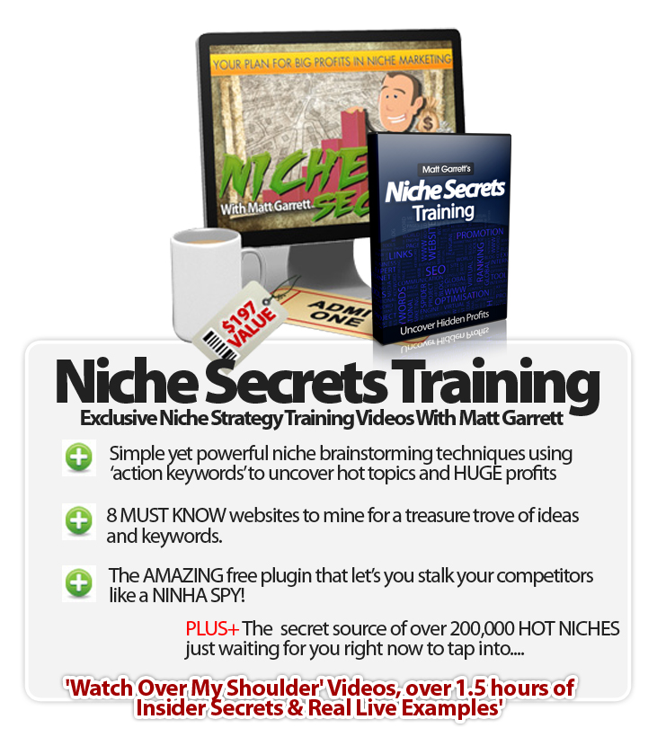 Niche Reaper - Totally Automatic Keyword Research - 7 DAY TRIAL OFFER – ONLY $1