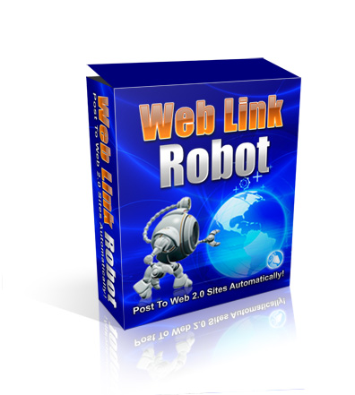 Web Link Robot - Post Content To Web 2.0 Sites Automatically - 7 Days For Only $2.99